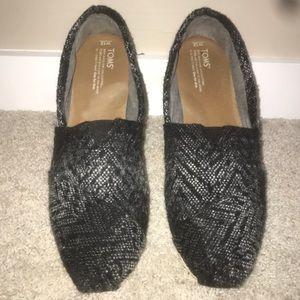 Warn used toms women's size 12